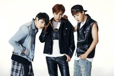 BTS JungKook, Jin and Jimin <DARK & WILD> Concept Photo #2 2014
