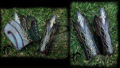 Elvish leather bracers by Feral-Workshop on deviantART