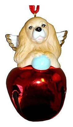 Amazon.com: StealStreet SS-D-BL008-A Cute Christmas Holiday Cocker Spaniel Dog…