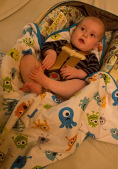 Hey, I found this really awesome Etsy listing at https://www.etsy.com/listing/185083093/monster-car-seat-blanket