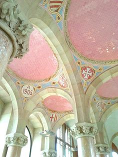 Il meraviglioso #Hospital de Sant Pau i de la Santa Creu a #Barcellona #santpau #modernismo