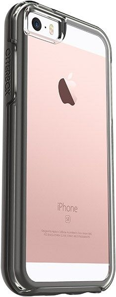 iPhone SE/5S Clear Black Symmetry OtterBox Case $39.99