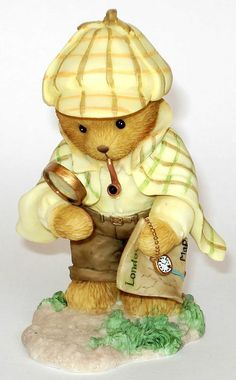 """Holmes """"It's No Mystery Why We're Friends"""" (Teddies At Work)"""