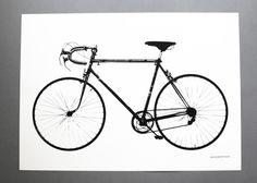 Världsmästarcykeln #jollygoodfellow #interior #bike #nordicdesigncollective