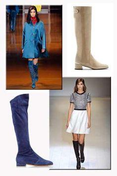 El imperio de las botas XXL este invierno desafía hasta el dress code más exigente. Apuesta por el c... - Sean Cunningham, L'Estrop, D.R.