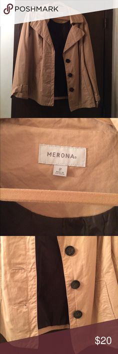Merona Tan Jacket Merona tan jacket/blazer.  Excellent condition Merona Jackets & Coats Blazers