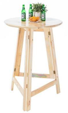 Elkar Stehtisch rund 78 cm Holz Jetzt bestellen unter: https://moebel.ladendirekt.de/kueche-und-esszimmer/tische/esstische/?uid=cb13100a-c6f0-5adf-ab6c-98f37a249736&utm_source=pinterest&utm_medium=pin&utm_campaign=boards #kueche #esstische #stehtische #esszimmer #tische