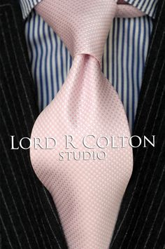 Lord R Colton Studio Tie - Pink & Pearl Woven Check Necktie - $95 Retail New in Clothing, Shoes & Accessories, Men's Accessories, Ties | eBay