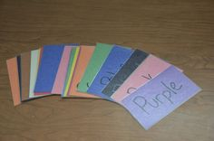 Ideas For Preschoolers Blog: Shapes and colours