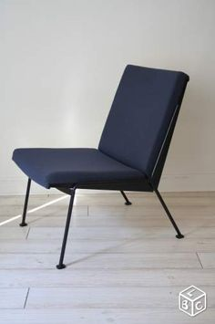 Fauteuil Chauffeuse RIETVELD 1950 Vintage Design Ameublement Paris - leboncoin.fr