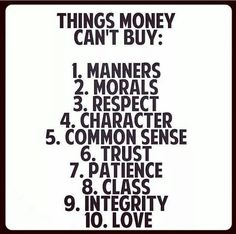 money cannot buy everything quotes - Google-haku