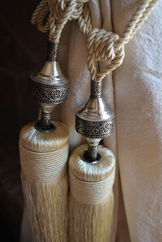 Moroccan Curtain Tassels by MaisonMarrakech on Etsy, $24.99