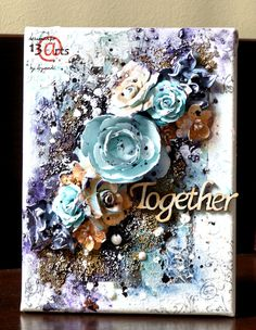 13 pasji by Ayeeda: Traveling with mini art kit Mini art kit w podróży mixed media canvas