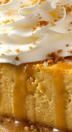 Pumpkin Flan, Pumpkin Swirl Cheesecake, Pumpkin Recipes, Pumpkin Dessert, Fall Recipes, Thanksgiving Desserts, Fall Desserts, Frozen Desserts, Just Desserts