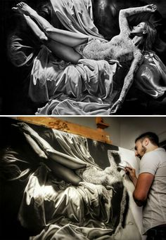 Amazing Tips And Techniques For Realistic Colored Pencil Artists Ideas. Wonderful Tips And Techniques For Realistic Colored Pencil Artists Ideas. Realistic Face Drawing, Hyper Realistic Paintings, Realistic Rose, Finger Painting, Painting & Drawing, Art Hyperréaliste, Pencil Art, Pencil Drawings, Hyperrealistic Art