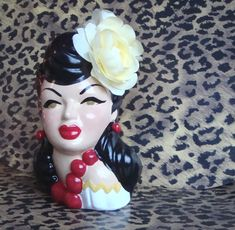ReVamped Vintage Head Vase