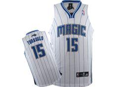 b8100bbb3 NBA Orlando Magic  15 Turkoglu Jersey-white