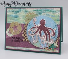 Stampin' Up! Sea of Textures Sneak Peek for the Happy Inkin' Thursday Blog Hop – Stamp With Amy K