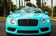 A Bentley | 37 Ways To Treat Yourself With Tiffany Blue