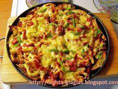 Πιτσοπατάτες - από «Τα φαγητά της γιαγιάς» Guacamole, Quiche, Sprouts, Appetizers, Pizza, Potatoes, Vegetables, Eat, Breakfast
