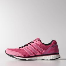 low priced bbaa0 9e716 This is the best running shoe I have ever had  Adidas adizero adios boost.  Love the pink!