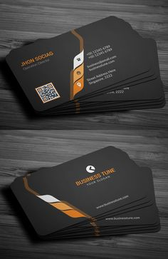 27 New Professional Business Card PSD Templates | Design | Graphic Design Junction
