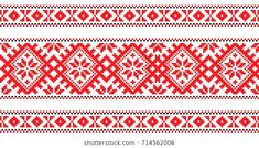 embroidered good like cross-stitch Ukraine pattern