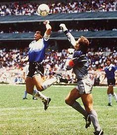 La mano de Dios, Diego Armando Maradona.