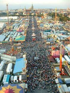 Go to Oktoberfest in Germany