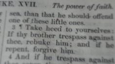 Verses Take Heed, Forgiveness, Verses, Lost, Faith, Album, Places, Scriptures, Believe