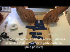 COMO CONSTRUIR UN MINI PANEL SOLAR CASERO CARGADOR SOLAR PORTABLE BARATO...