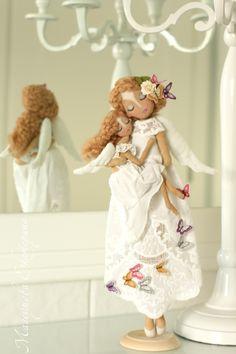 Екатерина Магсумова: БЕЛОСНЕЖНЫЕ АНГЕЛЫ В ИНТЕРЬЕРЕ / Snow white angels in the interior