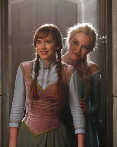 Anna and Elsa is Once Upon A Time.