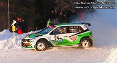 Mattias Adielsson leads Rally-SM after Rally Vännäs | Motorsport4sale Rally, Led