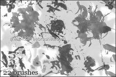 Grunge - Download  Photoshop brush https://www.123freebrushes.com/grunge-109/ , Published in #GrungeSplatter. More Free Grunge & Splatter Brushes, http://www.123freebrushes.com/free-brushes/grunge-splatter/ | #123freebrushes