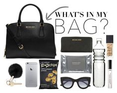 """Whats In My Bag- Naomi"" by nhoresh ❤ liked on Polyvore featuring Dermalogica, MICHAEL Michael Kors, Michael Kors, Thierry Lasry, NARS Cosmetics, Ralph Lauren, Sagaform and inmybag"