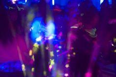 Highlighter Theme Party & Blacklight Party Ideas & Photos