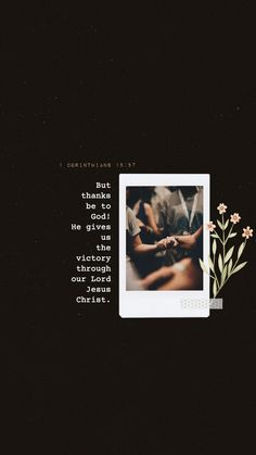 But thanks be to God! He gives us the victory through our Lord Jesus Christ. Bible Verse Art, Bible Verses Quotes, Bible Scriptures, Jesus Wallpaper, Bible Verse Wallpaper Iphone, Worship Wallpaper, Bible Words Images, Jesus Is Life, Inspirational Bible Quotes