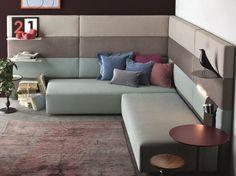 Sectional sofa bed Comp. Set /09 Set Collection by Twils | design Giuseppe Viganò