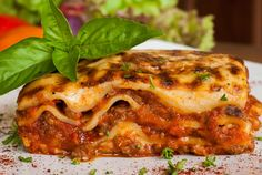 Classic Italian Bolognese Lasagna (Lasagna Classica alla Bolognese) | Enjoy this authentic Italian recipe from our kitchen to yours. Buon Appetito!
