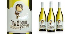 "Biles Inc. creates packaging for a new wine brand by wine producer and distributor Boutinot UK,  ""The Cloud Factory"", a Sauvignon Blanc from Marlborough, New Zealand."