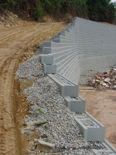 New Free of Charge Retaining Walls architecture Popular Should you have an outdoor within the Chattanooga vicinity, likelihood is you may have think it is an issue to. Backyard Retaining Walls, Building A Retaining Wall, Garden Retaining Wall, Concrete Retaining Walls, Gabion Wall, Sloped Backyard, Backyard Landscaping, Fence Design, Garden Design