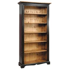 French Country Furniture | 7 Foot Bookcase made in the country french style of antiques by Kate Madison
