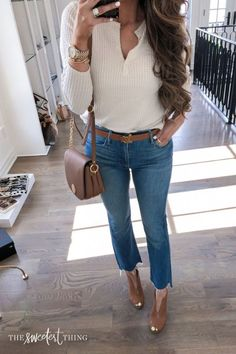 easy, casual, comfy outfits with leggings for fall 38 ~ my.me easy, casual, comfy outfits with . Casual Summer Outfits For Teens, Summer Outfit For Teen Girls, Fall Outfits For Work, Cute Fall Outfits, Classy Outfits, Stylish Outfits, Casual Dresses For Winter, Winter Outfits, Casual Winter