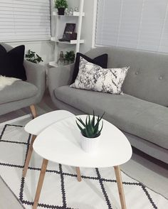 Beautiful Scandinavian living room with our TAPS tabled, EGEDALl sofa, PATRICK ladder shelf and CATHRINE velvet cushions. Show us your JYSK style by using #discoverjysk.