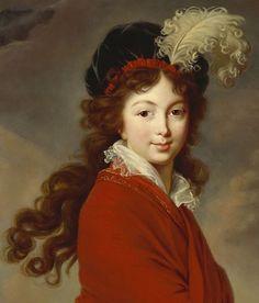 Grand Duchess Anna Feodorovna of Russia (nee Princess Juliane of Saxe-Coburg-Saalfeld).