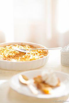 Crumble de Alperces e Pêssego com Iogurte Grego... e a nova realidadeby Suvelle Cuisine