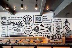 restaurant wall murals decor large wallpaper