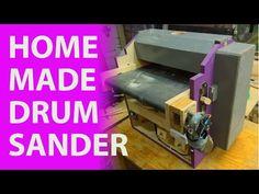 Homemade Drum/ Thickness Sander - YouTube