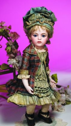 A gorgeous Bru doll with an estimated value of $20,000 to $30,000